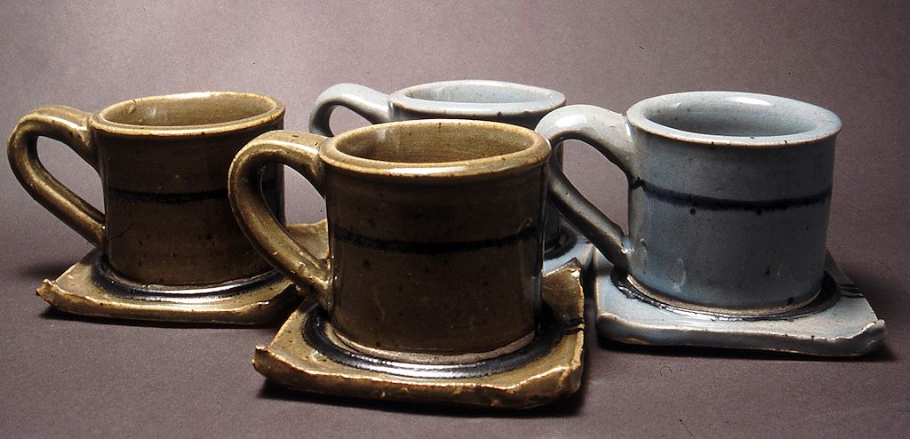 Ceramics: Functional - Cup and Saucer Service - final assignment