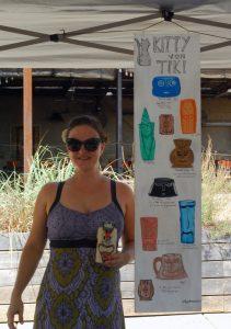 At Texas Tiki Week peddling my wares